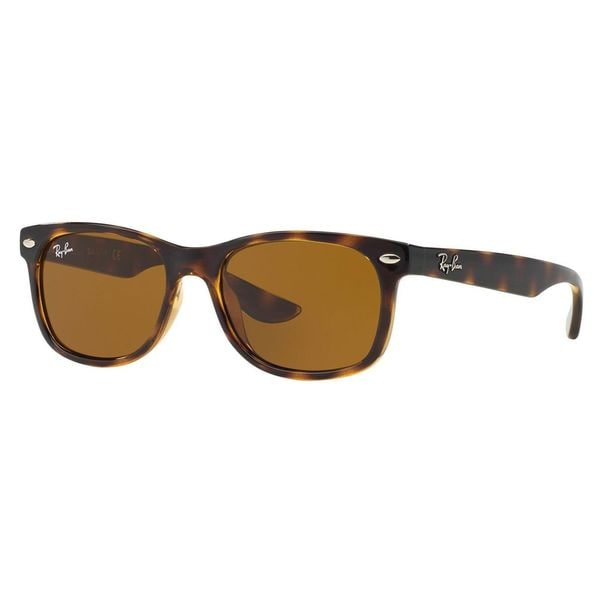 Ray-Ban Junior RJ9052S Tortoise Plastic Square Sunglasses