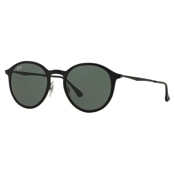 Ray-Ban Women's RB4224 Black Plastic Phantos Sunglasses