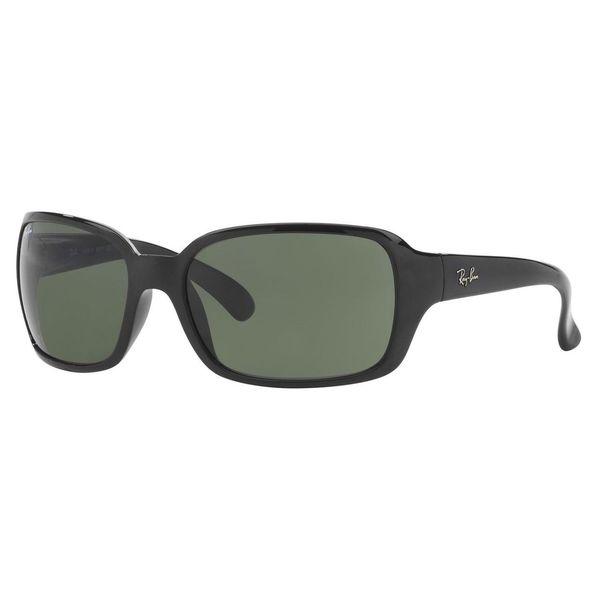 Ray-Ban Women's RB4068 Black Plastic Square Sunglasses