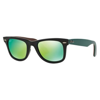 Ray-Ban Women's RB2140 Black Plastic Square Sunglasses