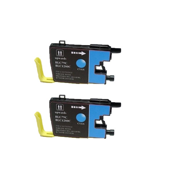Brother LC79 C Compatible Inkjet Cartridge for MFCAN-J6510DW MFCAN-J6710DW MFCAN-J6910DW (Pack of 2)