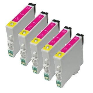 Epson T1243 Magenta Compatible Inkjet Cartridge for NX 430 420 330 230 127 (Pack of 5)