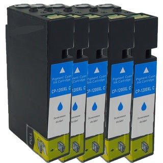 Canon CAN-PGI1200 XL C Compatible Inkjet Cartridge for MAXIFY MB5320/ MB2020/ MB2320 (Pack of 5)