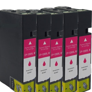 Canon CAN-PGI1200 XL M Compatible Inkjet Cartridge for MAXIFY MB5320/ MB2020/ MB2320 (Pack of 5)