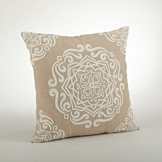 Embroidered Design Pillow - 18inch