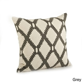 Ari Embroidered Pillow - 18-inch