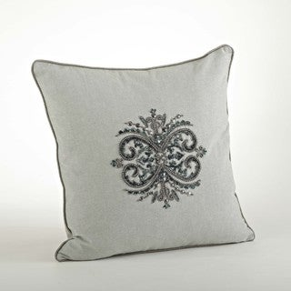 Beaded Design Pillow