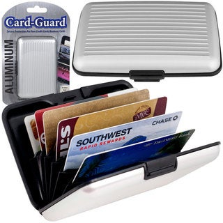 Aluminum Credit Card Wallet , RFID Blocking Case by Trademark Home