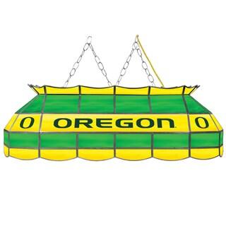 University of Oregon Handmade Tiffany Style Lamp - 40 Inch