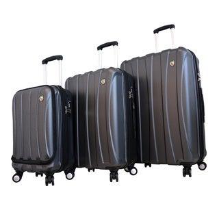 Mia Toro ITALY Tasca Fusion 3-piece Hardside Spinner Luggage Set