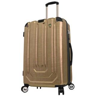 Mia Toro ITALY Macchiolina Polish Hardside 26-inch Spinner Upright Suitcase