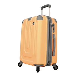 Mia Toro Pastello Composite 20-inch Hardside Spinner Carry-on Suitcase