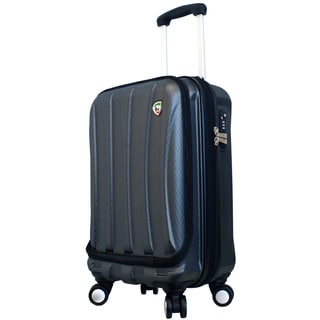 Mia Toro ITALY Tasca Fusion 20-inch Hardside Spinner Carry-on Suitcase