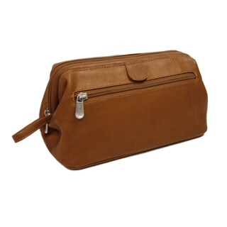 Piel Leather Deluxe Top Frame Traveling Kit