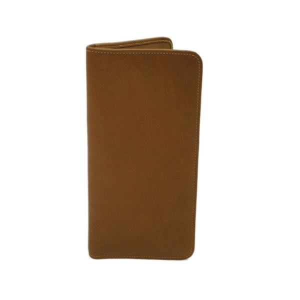 Piel Colombian Leather Passport/ Ticket Holder