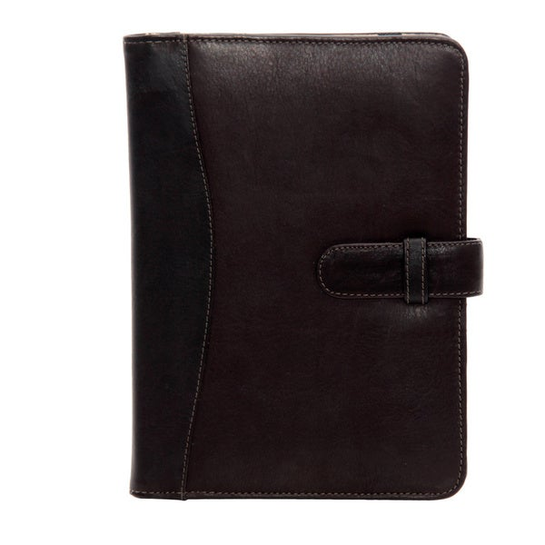 Colombian Leather Folio Tablet Case for Apple iPad Mini with Tab Closure