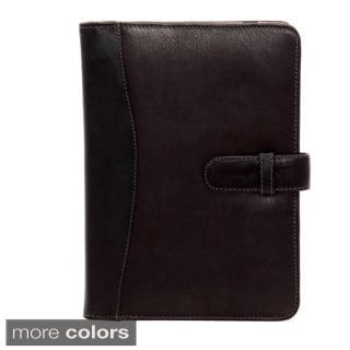 Piel Colombian Leather Folio Tablet Case for Apple iPad Mini with Tab Closure