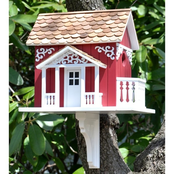 Swedish Cottage Birdhouse