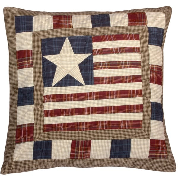 Stars and Stripes Americana Throw Pillow