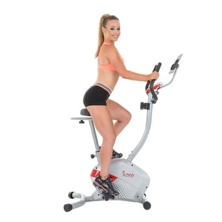 Sunny Health and Fitness SF-B2511H Magnetic Upright Bike with Tablet Holder
