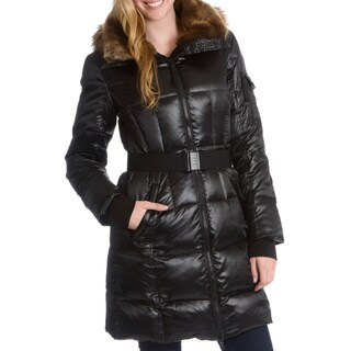 S13/NYC Women's Alpine Quilted Belted Outerwear