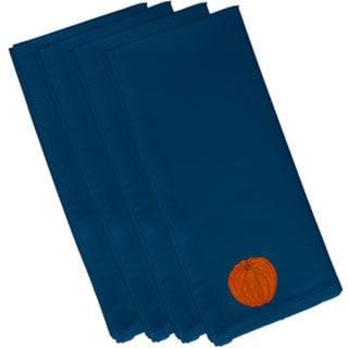 Cotton Blue 22x22 Li'l Pumpkin Holiday Print Napkin
