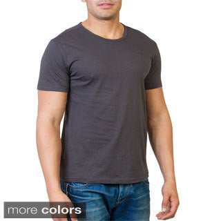 Agiato Apparel Men's Basic Crew Neck T-shirt