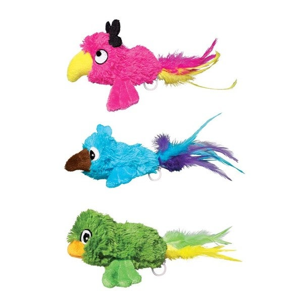 KONG Buzzies Bird Cat Toy