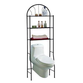 Space-Saving Bathroom Shelving Unit