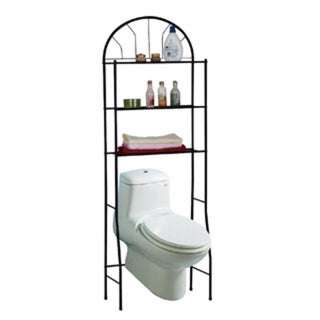 Space-Saving Bathroom Shelving Unit