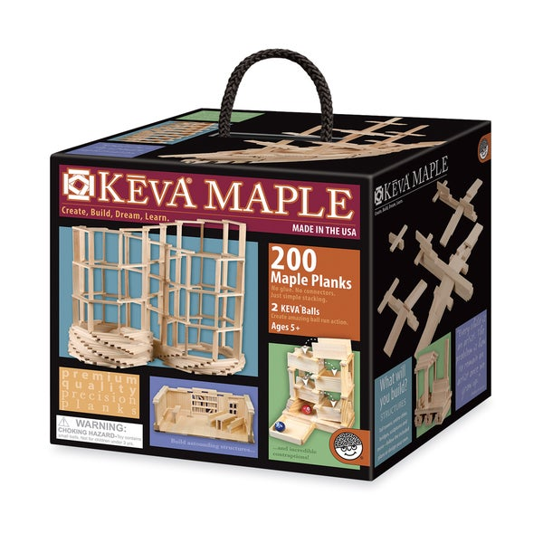 KEVA Maple 200 Plank Set