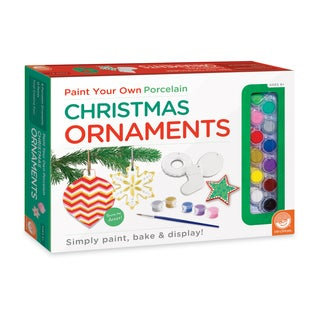 Paint Your Own Christmas Ornaments