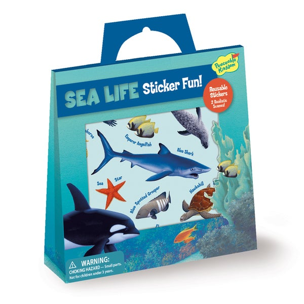 Sea Life Sticker Tote