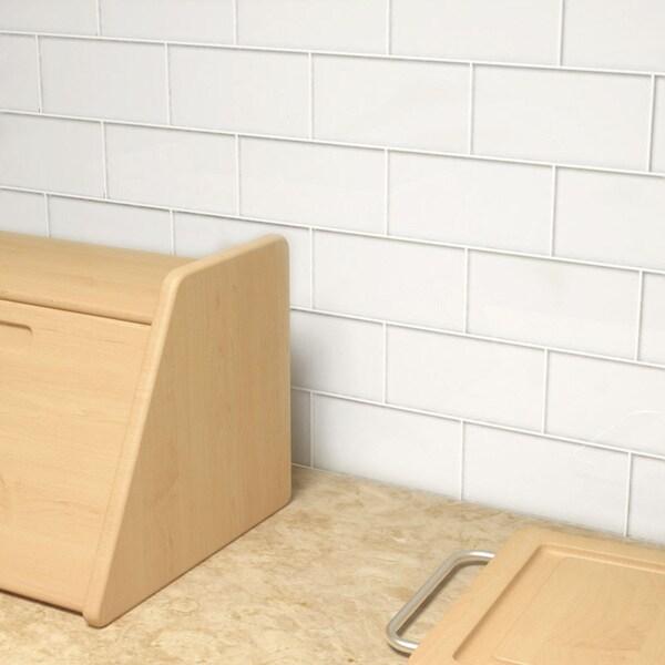 Bright White Subway (5.5 Square Feet) (44 Pieces per Unit)