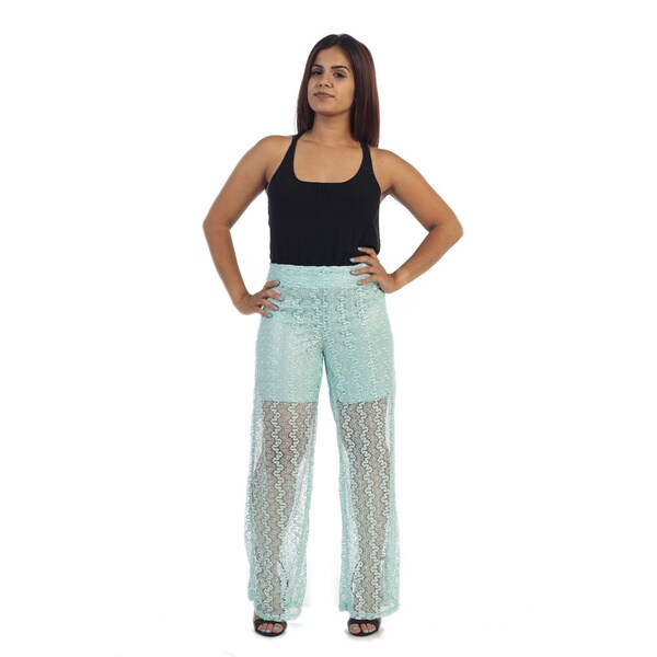 Ella Samani Women's Lace Pants