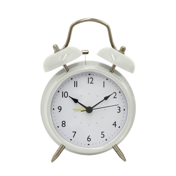 7-inch Metal Alarm Clock