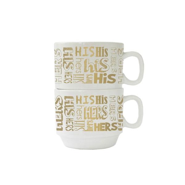 His and Hers 14-ounce Mug (Set of 2)
