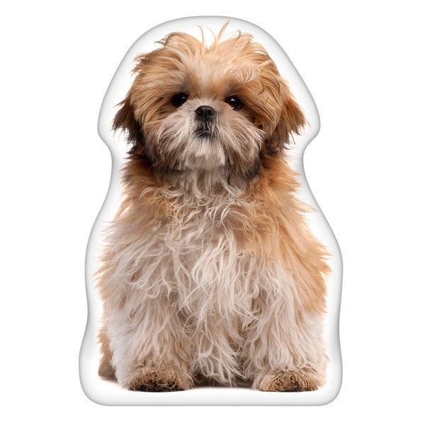 Shih Tzu Shaped Pillow