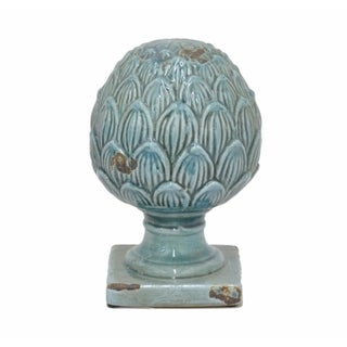 Blue Terracotta Finial
