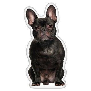 French Bulldog Black Shaped Pillow