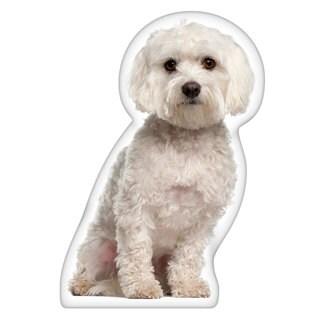 Maltese Shaped Pillow