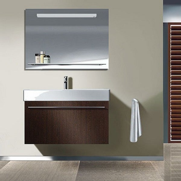Duravit White High Gloss X-large Vanity