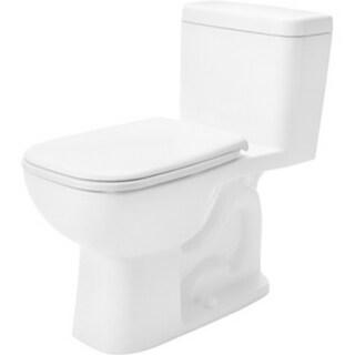 Duravit White Alpin D-code Elongated Toilet
