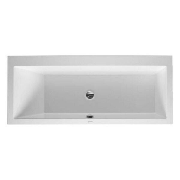 Duravit White Alpin Vero Soaking Bathtub