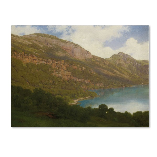 Robert Zund 'View from the Rigi' Canvas Art