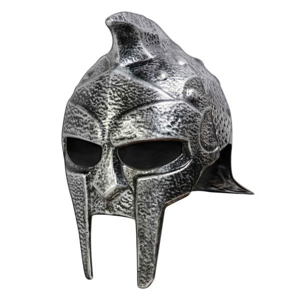 Roman Gladiator Adult Helmet Hat Trojan Warrior Mens Russell Crowe Maximus