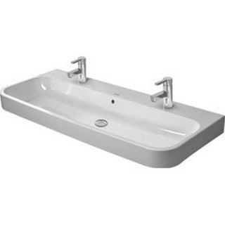 Duravit White Alpin Happy D Console Porcelain Bathroom Sink