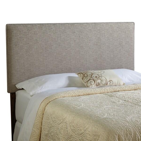 Humble + Haute Bingham Full Size Ash Grey Upholstered Headboard