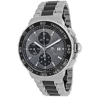 Tag Heuer Men's CAU2010.BA0873 Formula 1 Round Two-tone Stainless Steel and Ceramic Bracelet Watch