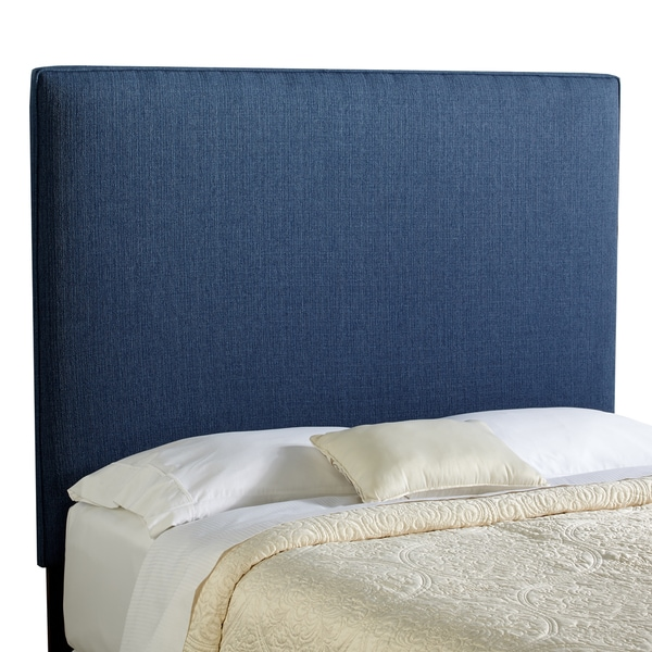 Humble + Haute Bingham Tall Queen Size Navy Blue Upholstered Headboard